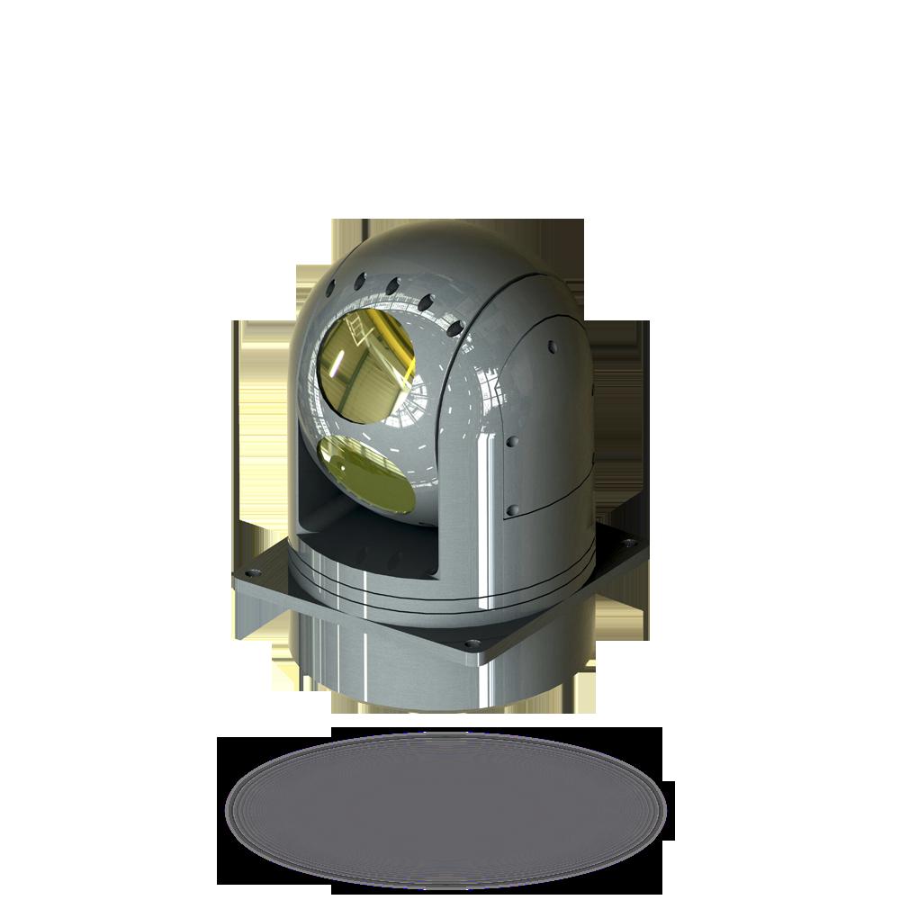 Гиростабилизированная оптико-электронная система 4.1