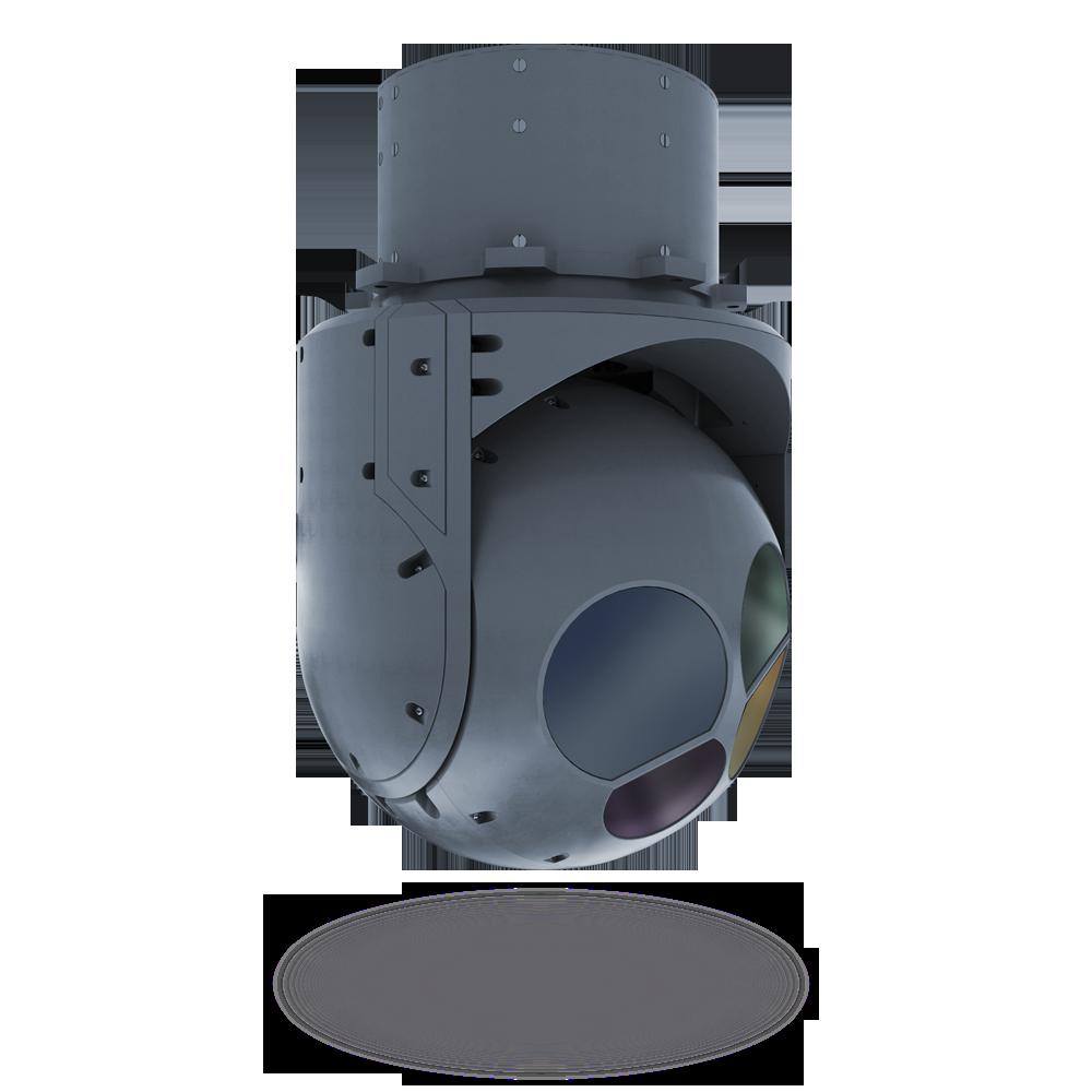 Гиростабилизированная оптико-электронная система 4.3