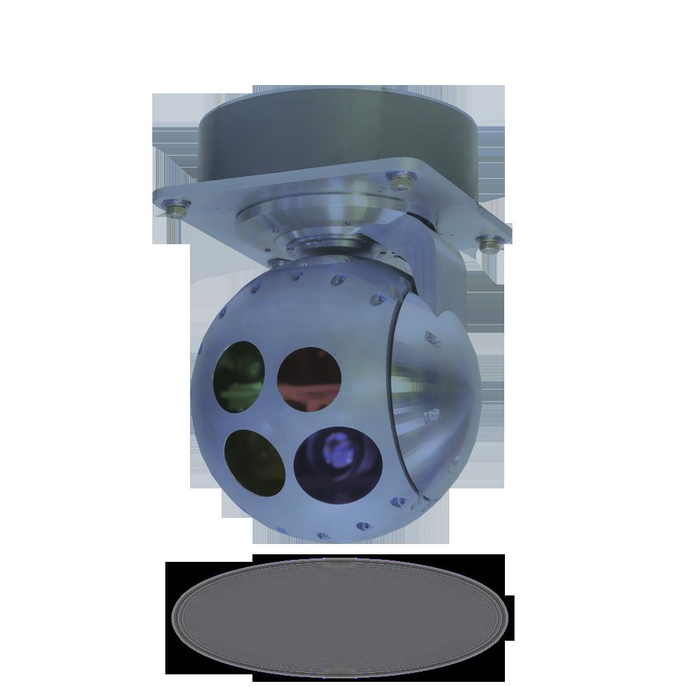Гиростабилизированная оптико-электронная система 4.2