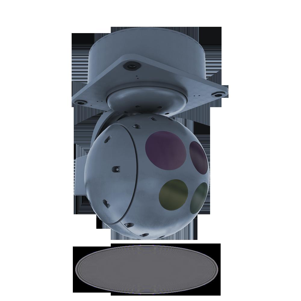 Гиростабилизированная оптико-электронная система 5