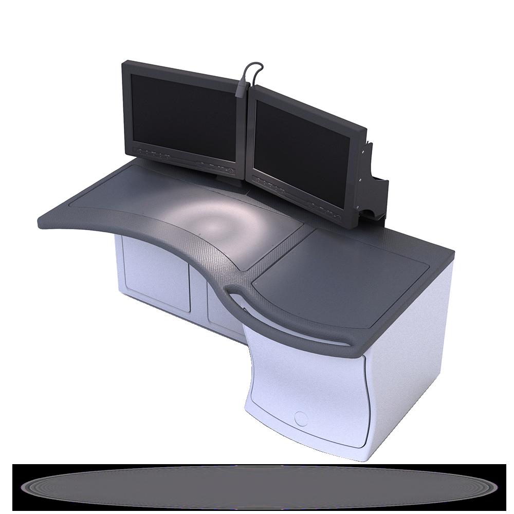 Унифицированная конструкция пульта для корабельных ГКП