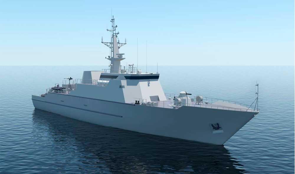 Комплексная система управления техническими средствами на пр.12700: Базовый тральщик для ВМФ РФ