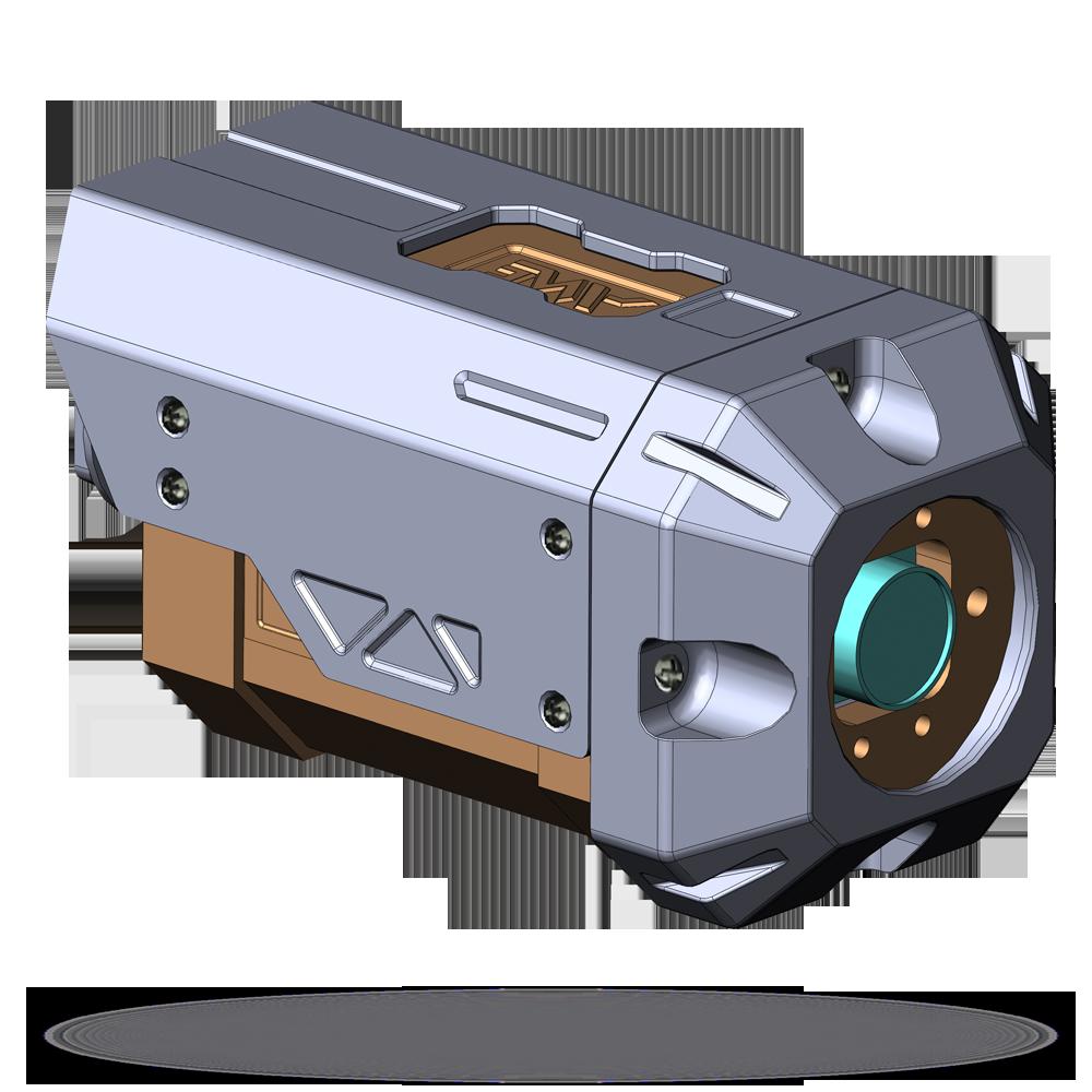 Вариант корпусирования глубоководного оптико-электронного модуля «Мольва»