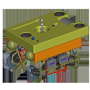 Спускаемый дистанционно управляемый необитаемый подводный аппарат
