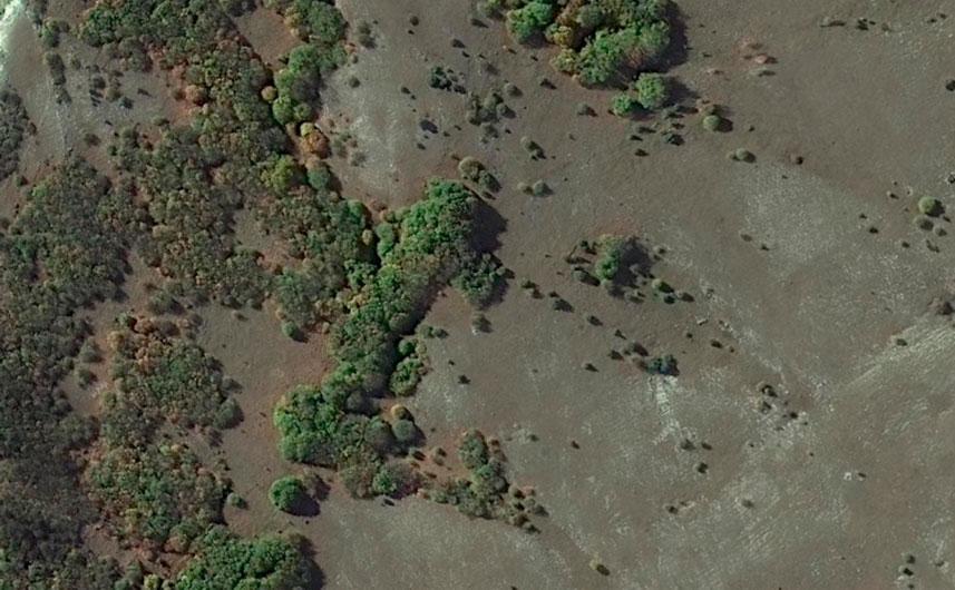 Исходное изображение участка местности