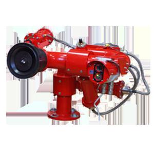 Дистанционно управляемый пожарный робот