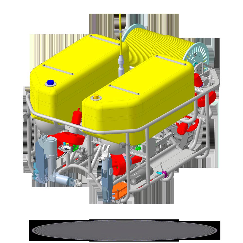 Рабочий телеуправляемый необитаемый подводный аппарат «Тритон-М»