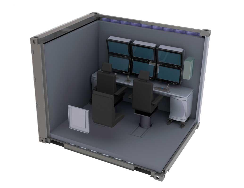 Пульт управления для размещения в контейнере